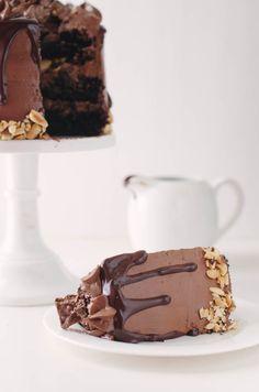 Crack Brownie Layer Cake | The Cake Merchant