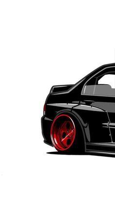 Honda Civic, Automobile, Super Sport Cars, Car Illustration, Car Drawings, Car Sketch, Automotive Art, Japanese Cars, Car Painting