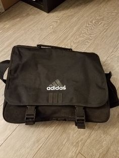 Adidas Messenger Bag Shoulder Tote Laptop Briefcase School Travel Black   fashion  clothing  shoes  accessories  mensaccessories  bags (ebay link) 5e3931bf1aa32
