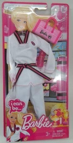 Mattel finally took my advice! Barbie Clothes, Barbie Dolls, Taekwondo Kids, Karate Party, Barbie Wardrobe, Hapkido, Martial Artists, Running Workouts, Doll Furniture