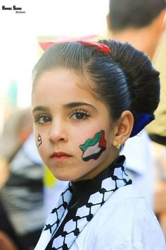 Image via We Heart It https://weheartit.com/entry/149920682 #beauty #palestine #فلسطين #طفولة #اطفالفلسطين #childrenpalestine #زهراتفلسطين