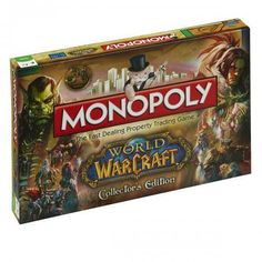 World of Warcraft Edition Monopoly http://www.helpmedias.com/wow.php