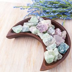 This listing is for one piece of raw natural fluorite. Ill intuitively choose your piece for you! Fluorite is a the soul path stone. Meditate