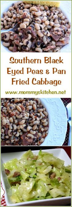 Mommy's Kitchen - Recipes from my Texas Kitchen. Having Black-Eyed Peas on New Year's Day is a Southern Tradition, Whether it's true or not, traditions are traditions and who wants to tempt fate. Eating Black Eyed Peas is considered good luck, While the Cabbage or greens represent money, a/k/a prosperity. That is what we do every year we stick to tradition. If you're looking for a good recipe this one is delicious. #blackeyedpeas #southern #tradition. #newyearsday #mommyskitchen