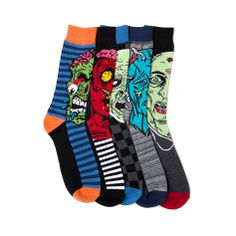 Shop for Mens Zombie Faces Crew Socks 5 Pack in  at Journeys Shoes. Shop today for the hottest brands in mens shoes and womens shoes at Journeys.com.These socks are totally ill, dude. Assorted 5 pack of zombie face crew socks. Available only at Journeys!