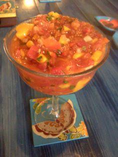 ANDY's mango salsa