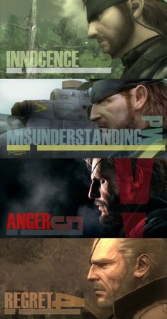 pizzaslicinator:  Big Boss stages of life
