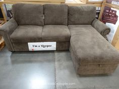 Leather Sleeper Sofa Pulaski Newton Chaise Sofa Bed Costco