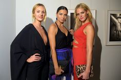 Candice Swanepoel, Adriana Lima and Erin Heatherton. Photo by Russel James.