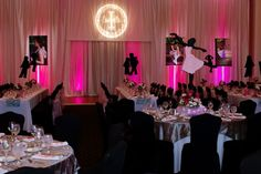 Ballet Dance Theme Bat Mitzvah Party, Logo by Cutie Patootie Creations {Erica Westmoreland Photography} - mazelmoments.com