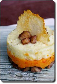 Duo de purées aux panais, carottes et châtaignes | Recettes/Legumes et Végétarien | Recettes