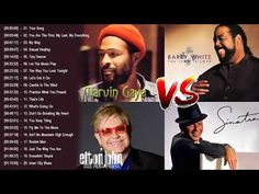 Frank Sinatra,Eton John,Barry White,Marvin Gaye Greatest Hits,Top Love Sngs Soul, Best Of New Songs - YouTube