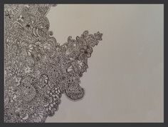 Intricate design ( made with .3mm pen)