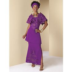 Love this purple..It's so regal!