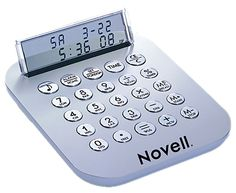 Executive Quality Calculator with Alarm Clock