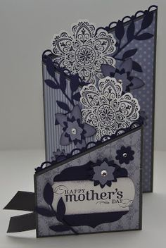 Snippets By Design: FM100 {Z-Fold Mother's Day Card}