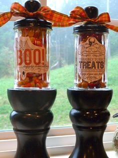Life, Made Interesting.: Fall Candy Displays