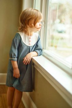 A Stitch a Day: A Chambray Playdate Dress