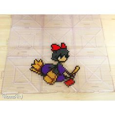 Kiki's Delivery Service perler beads by hannah