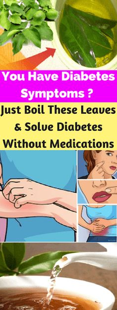 You Have Diabetes Symptoms ? Just Boil These Leaves & Solve Diabetes Without Medications ~ KrobKnea