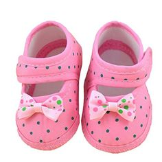 Leewa Hot Sale  Baby Bowknot Soft Crib Shoes Pink 36 Months ** Check out the image by visiting the link.(This is an Amazon affiliate link)