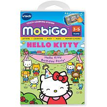 Vtech MobiGo Learning Software - Hello Kitty. Totally getting her this for Christmas!!!