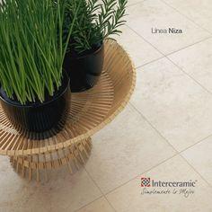 Cuando se trate de exteriores, elige pisos que además de muy resistentes, sean sencillos de limpiar. Elige #Interceramic.