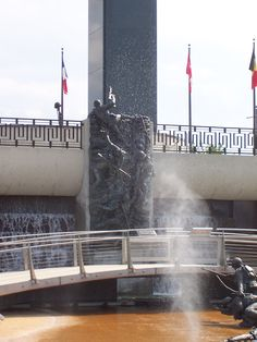 World War II Memorial in VA.