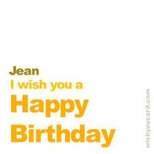 Image result for happy birthday jean images