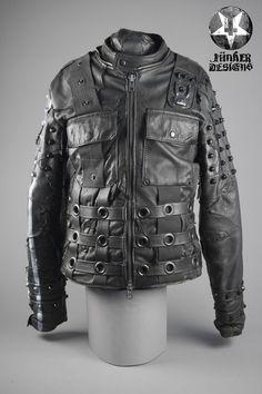 Image of Junker Designs Men's Leather Raider Jacket