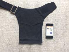 Canvas UTILITY belt, POCKET BELT, festival belt, fanny pack, money belt, waist bag, hip bag