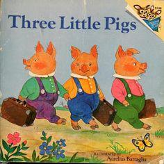 Three Little Pigs, illustrated by Aurelius Battaglia