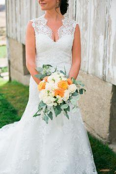 Teal, Orange & Crimson Rustic Fall Wedding at Legacy Hill Farm Orange Wedding Colors, Teal Orange, October Wedding, Fall Wedding, Wedding Ideas, Gray Weddings, Brittany, Bouquet, Rustic