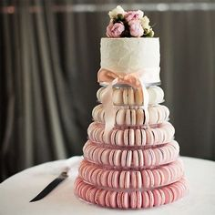 6 Tiers Round Macaron Tower Cake Stand Macaron Display Rack for Wedding Birthday - Hochzeit Macaron Tower, Macaron Cake, Wedding Cake Prices, Floral Wedding Cakes, Wedding Cupcakes, Bride Cupcakes, Buckwheat Cake, Zucchini Cake, Salty Cake
