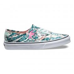 Vans Vans Tropical Authentic Shoes (Tropical) Multi/True White - Vans UK Official Online Store