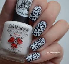 Kaleidoscope Stamping Polish 02 White