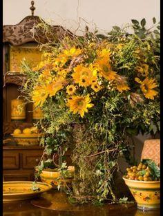 Sunflowers make me happy!