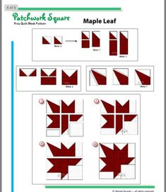 Quilt Square Patterns, Barn Quilt Patterns, Paper Piecing Patterns, Pattern Blocks, Patchwork Quilt, Scrappy Quilts, Canadian Quilts, Quilts Canada, Modern Quilt Blocks