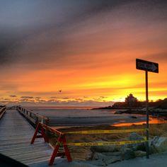Good Harbor Beach sunset! Can't wait for summer😎