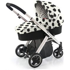BabyStyle Oyster Vogue 3 in 1 Pram Dalmation