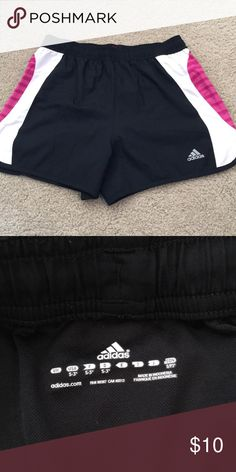 Adidas Running Shorts Adidas running shorts with built in underwear. Only worn a few times and in great shape. Adidas Shorts