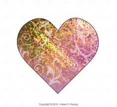 Free week of 1/13/16, Pink Heart Illustration - Stock Photos & Images | Stockafe.com