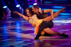 Dani Harmer and Vincent Simone - Strictly Come Dancing Week 8 - Nov 2012