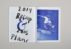 Issue of Cuba Skate's 'zine. Book Layout, Page Layout, Editorial Layout, Editorial Design, Cuba, My Magazine, Tumblr, Layout Inspiration, Book Design