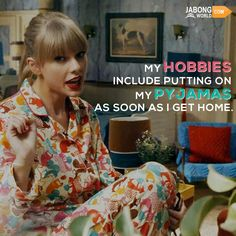 Agreed, girls? #JWquotes #Pyjamas #TaylorSwift​