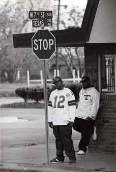Pimp C and Bun B lampin in Port Arthur, TX around the time of their sophomoric album 'Super Tight.' (Photo taken Love And Hip, Hip Hop And R&b, Hip Hop Rap, I Love Music, Music Is Life, Country Rap, New School Hip Hop, Pimp C, Bun B