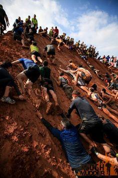 Tough Mudder Austin 2012- King of the Mountain, photo by Dmitry Gudhov