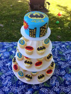 Super hero Lego birthday cake Birthday Cake Pinterest