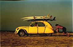 Surf and 2cv