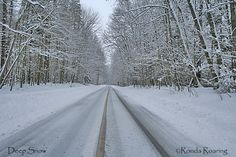 Snow can get very deep in the Finger Lakes. This snow is excellent for cross-country skiing.